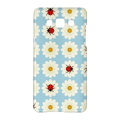 Ladybugs Pattern Samsung Galaxy A5 Hardshell Case  by linceazul