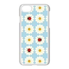 Ladybugs Pattern Apple Iphone 7 Seamless Case (white) by linceazul