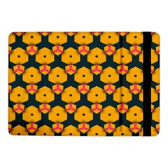 Yellow Pink Shapes Pattern   Samsung Galaxy Tab Pro 8 4  Flip Case by LalyLauraFLM