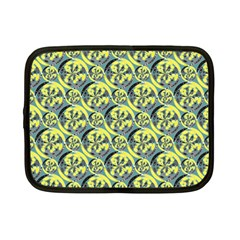 Black And Yellow Pattern Netbook Case (small)  by linceazul