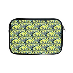 Black And Yellow Pattern Apple Ipad Mini Zipper Cases by linceazul