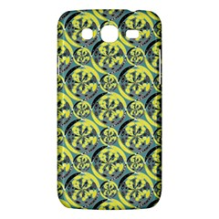 Black And Yellow Pattern Samsung Galaxy Mega 5 8 I9152 Hardshell Case  by linceazul