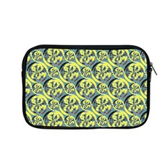 Black And Yellow Pattern Apple Macbook Pro 13  Zipper Case by linceazul