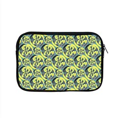 Black And Yellow Pattern Apple Macbook Pro 15  Zipper Case by linceazul