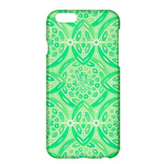 Kiwi Green Geometric Apple Iphone 6 Plus/6s Plus Hardshell Case by linceazul