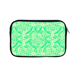 Kiwi Green Geometric Apple Macbook Pro 13  Zipper Case by linceazul