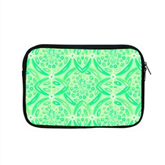 Kiwi Green Geometric Apple Macbook Pro 15  Zipper Case by linceazul