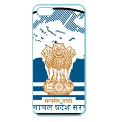 Seal Of Indian Sate Of Himachal Pradesh Apple Seamless Iphone 5 Case (color) by abbeyz71