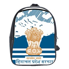 Seal Of Indian Sate Of Himachal Pradesh School Bags (xl)  by abbeyz71