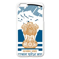 Seal Of Indian Sate Of Himachal Pradesh Apple Iphone 6 Plus/6s Plus Enamel White Case by abbeyz71