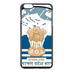 Seal Of Indian Sate Of Himachal Pradesh Apple Iphone 6 Plus/6s Plus Black Enamel Case by abbeyz71