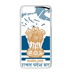 Seal Of Indian Sate Of Himachal Pradesh Apple Iphone 7 Plus White Seamless Case by abbeyz71