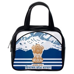 Seal Of Indian Sate Of Himachal Pradesh Classic Handbags (one Side) by abbeyz71