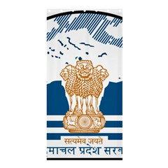 Seal Of Indian Sate Of Himachal Pradesh Shower Curtain 36  X 72  (stall)  by abbeyz71