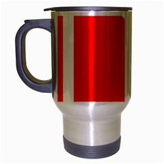 Flag Of Indian State Of Jammu And Kashmir Travel Mug (silver Gray) by abbeyz71