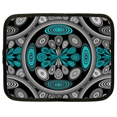 Geometric Arabesque Netbook Case (xl)  by linceazul