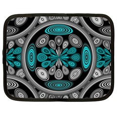 Geometric Arabesque Netbook Case (xxl)  by linceazul