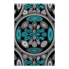 Geometric Arabesque Shower Curtain 48  X 72  (small)  by linceazul