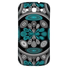 Geometric Arabesque Samsung Galaxy S3 S Iii Classic Hardshell Back Case by linceazul