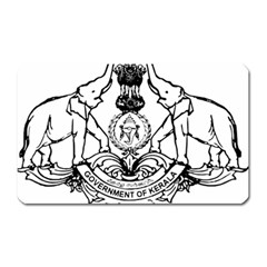 Seal Of Indian State Of Kerala  Magnet (rectangular) by abbeyz71
