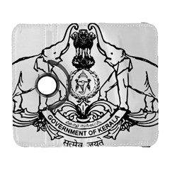 Seal Of Indian State Of Kerala  Galaxy S3 (flip/folio) by abbeyz71