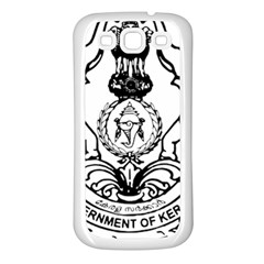 Seal Of Indian State Of Kerala  Samsung Galaxy S3 Back Case (white) by abbeyz71