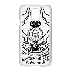 Seal Of Indian State Of Kerala  Samsung Galaxy S5 Case (white) by abbeyz71