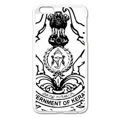 Seal Of Indian State Of Kerala  Apple Iphone 6 Plus/6s Plus Enamel White Case by abbeyz71