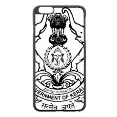 Seal Of Indian State Of Kerala  Apple Iphone 6 Plus/6s Plus Black Enamel Case by abbeyz71