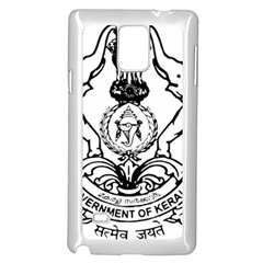 Seal Of Indian State Of Kerala  Samsung Galaxy Note 4 Case (white) by abbeyz71
