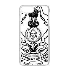 Seal Of Indian State Of Kerala  Apple Iphone 7 Plus White Seamless Case by abbeyz71