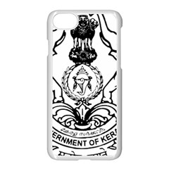 Seal Of Indian State Of Kerala  Apple Iphone 7 Seamless Case (white) by abbeyz71