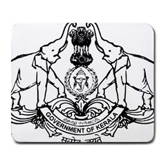 Seal Of Indian State Of Kerala Large Mousepads by abbeyz71