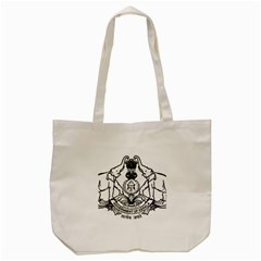 Seal Of Indian State Of Kerala Tote Bag (cream) by abbeyz71