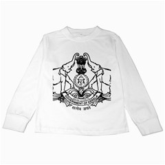Seal Of Indian State Of Kerala Kids Long Sleeve T Shirts by abbeyz71