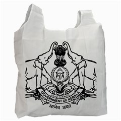 Seal Of Indian State Of Kerala Recycle Bag (one Side) by abbeyz71