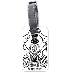 Seal Of Indian State Of Kerala Luggage Tags (one Side)  by abbeyz71