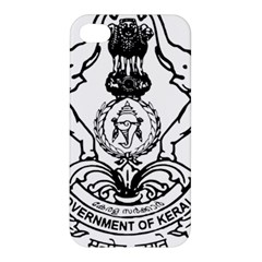 Seal Of Indian State Of Kerala Apple Iphone 4/4s Hardshell Case by abbeyz71