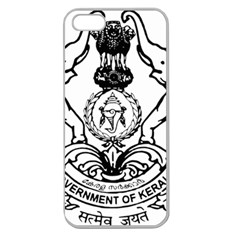 Seal Of Indian State Of Kerala Apple Seamless Iphone 5 Case (clear) by abbeyz71
