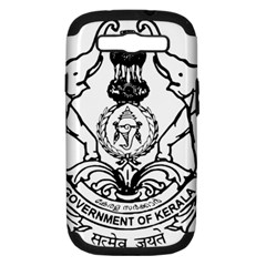 Seal Of Indian State Of Kerala Samsung Galaxy S Iii Hardshell Case (pc+silicone) by abbeyz71