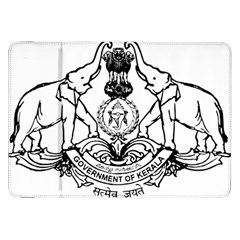 Seal Of Indian State Of Kerala Samsung Galaxy Tab 8 9  P7300 Flip Case by abbeyz71