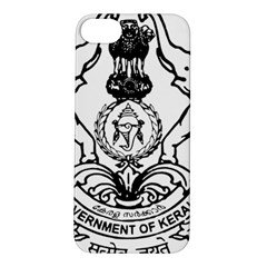 Seal Of Indian State Of Kerala Apple Iphone 5s/ Se Hardshell Case by abbeyz71