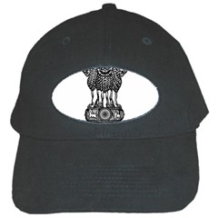Seal Of Indian State Of Meghalaya Black Cap by abbeyz71