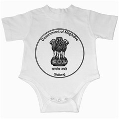 Seal Of Indian State Of Meghalaya Infant Creepers by abbeyz71