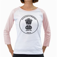 Seal Of Indian State Of Meghalaya Girly Raglans by abbeyz71
