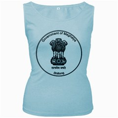 Seal Of Indian State Of Meghalaya Women s Baby Blue Tank Top by abbeyz71