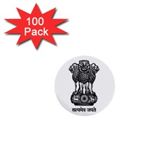 Seal Of Indian State Of Meghalaya 1  Mini Buttons (100 Pack)  by abbeyz71