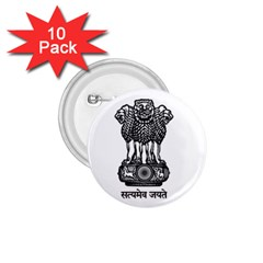 Seal Of Indian State Of Meghalaya 1 75  Buttons (10 Pack) by abbeyz71