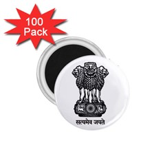 Seal Of Indian State Of Meghalaya 1 75  Magnets (100 Pack)  by abbeyz71