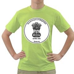 Seal Of Indian State Of Meghalaya Green T Shirt by abbeyz71